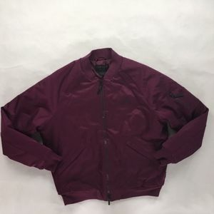 Nike Air Jordan Wings MA-1 Bomber Jacket Bordeaux